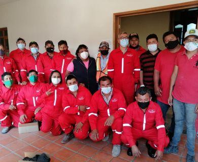 ENTREGA DE UNIFORMES SEVICIOS MUNICIPALES