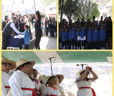 Concurso de interpretación de himno al estado